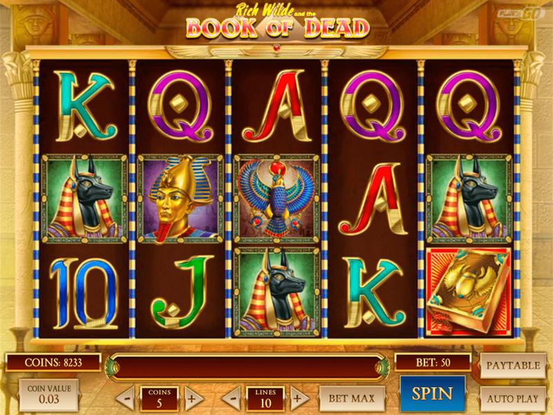 Sichern Sie sich jetzt Book of Dead Slot Freispiele  – Vollständige Rezension